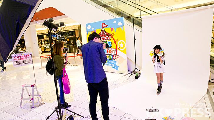 撮影会ブースの様子(C)DK♥PRESS
